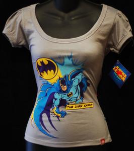 Batman the Dark Knight Grey Girls T-Shirt