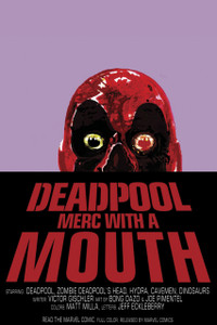 """Deadpool - Merc with a Mouth 12x18"""" Poster"""