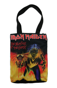 Iron Maiden The Number of the Beast Shoulder Bag