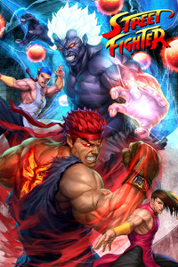 """Street Fighter 12x18"""" Poster"""