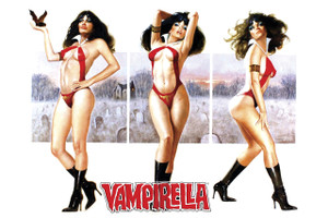"Vampirella 12x18"" Poster"