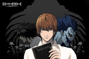 """Death Note 12x18"""" Poster"""