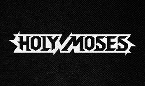 "Holy Moses Logo 5x3"" Printed Patch"