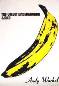 """The Velvet Underground and Nico Andy Warhol 24x36"""" Poster"""