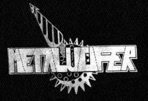 "Metalucifer - Logo 7x5"" Printed Patch"