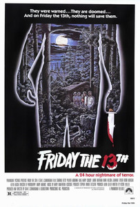 """Friday the 13th Movie 24x36""""  Poster"""