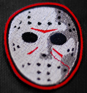 "Friday 13th Jason Voorhees 3x3.5"" Embroidered Patch"