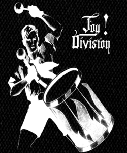 "Joy division - An Ideal for Living 5x4"" Printed Patch"