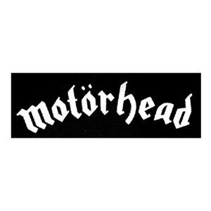 "Motorhead Logo 6x2"" Printed Patch"