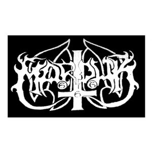 Other Music Memorabilia Marduk Die-cut White Logo Embroidered Patch Music Memorabilia