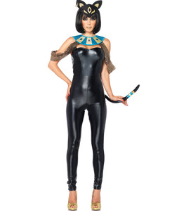 Egyptian Cat Goddess Halloween Costume