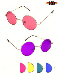 Color Round Lennon Sunglasses