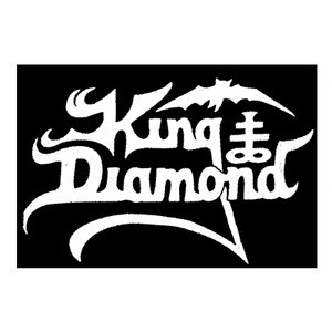 "King Diamond Logo 5x4"" Printed Patch"