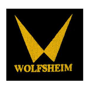 """Wolfsheim Logo 4x4"""" Printed Patch"""