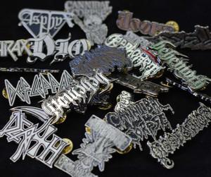 Custom Metal badges 65 pieces