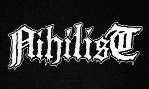 "Nihilist Logo 5x3"" Printed Patch"