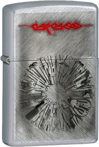 Carcass - Surgical Chrome Lighter