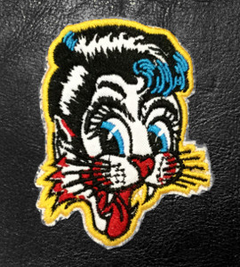 "Stray Cats - Cat 3"" Embroidered Patch"