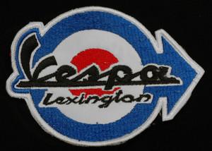 """Vespa - Lexington 3.25"""" Embroidered Patch"""