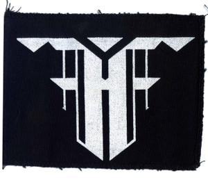 """Feindflug """"F"""" Logo 7x5"""" Printed Patch"""