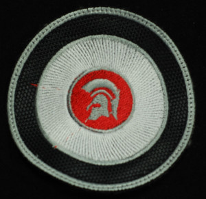 "Trojan Logo - Espiral 3"" Embroidered Patch"