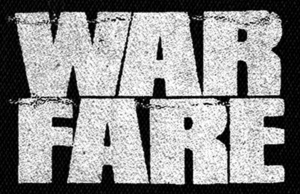 "Warfare Logo 6x5"" Printed Patch"