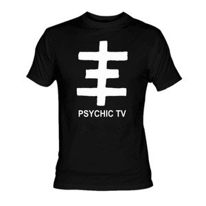 Psychic TV - Cross Logo T-Shirt