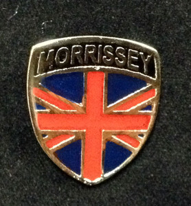 "Morrissey - Union jack 1.5"" Metal Badge Pin"