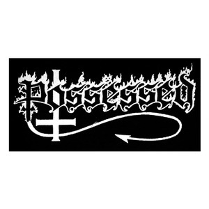 "Possessed Logo 8x5"" Printed Patch"