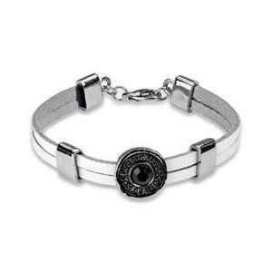 Silver Gemmed Bracelet