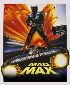 "Mad Max - French Poster 4x4.8"" Color Patch"