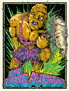 "The Toxic Avenger 4x5.25"" Color Patch"