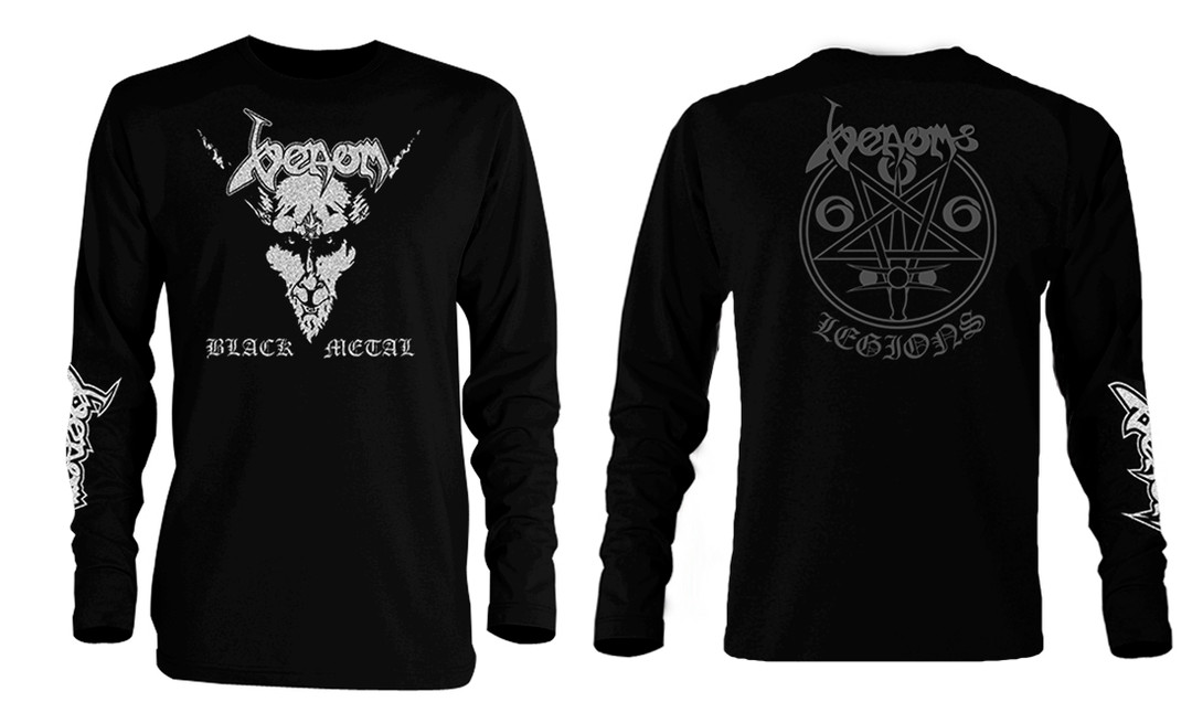 22463f27389b ... Venom Black Metal Long Sleeve T-Shirt. Image 1. Image 2. See 1 more  picture