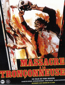 "The Texas Chainsaw Massacre - French Poster 4x5.25"" Color Patch"