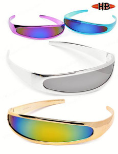 Futuristic X-men punk Cyclops Sunglasses
