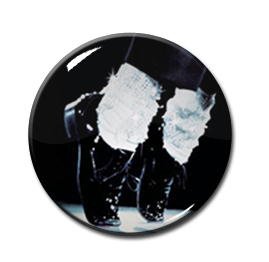 "Michael Jackson 1"" Pin"