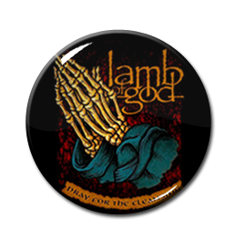 "Lamb of God - Pray for the Cleansing 1"" Pin"