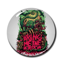 "Bring Me the Horizon - Dinosaur 1"" Pin"