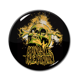 "Bring Me the Horizon - Skull 1"" Pin"