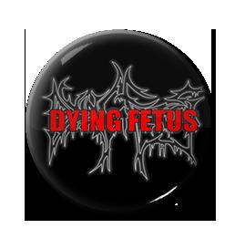 """Dying Fetus - Red Logo 1"""" Pin"""