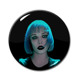 """Crystal Castles - Alice Glass 1"""" Pin"""