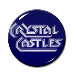 "Crystal Castles 1"" Pin"