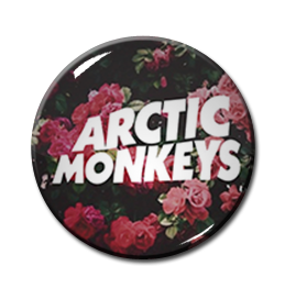 "Arctic Monkeys - Roses 1"" Pin"