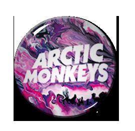 "Arctic Monkeys - Psychedelic 1"" Pin"