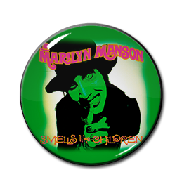 "Marilyn Manson - Smells Like Children 1"" Pin"