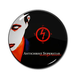 "Marilyn Manson - Antichrist Superstar 1"" Pin"
