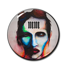 "Marilyn Manson - Lest We Forget 1"" Pin"