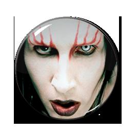 "Marilyn Manson 1"" Pin"