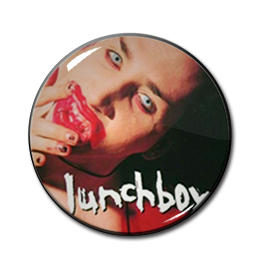 "Marilyn Manson - Lunchbox 1"" Pin"