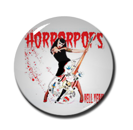 "Horrorpops - Hell Yeah 1"" Pin"